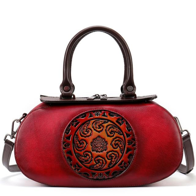 NEMIA Genuine Leather Handbag