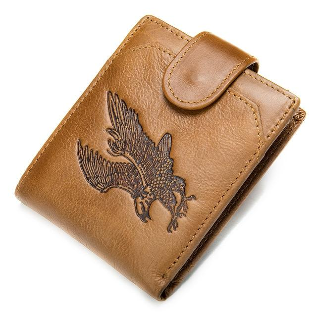OLAER Genuine Leather Wallet - VINNALEA