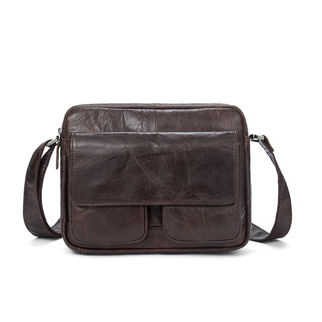 PRENI Genuine Leather Shoulder Bag