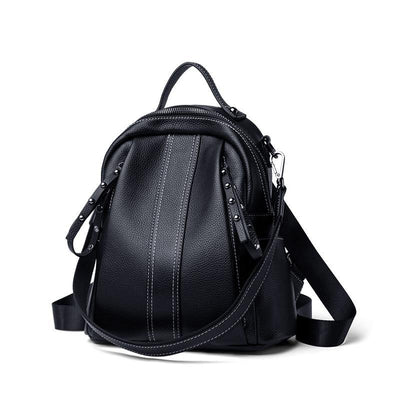 REMINA Genuine Leather Backpack Purse