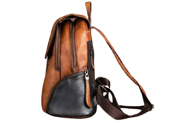 SIDES-Genuine-Leather-Backpack-Side-View