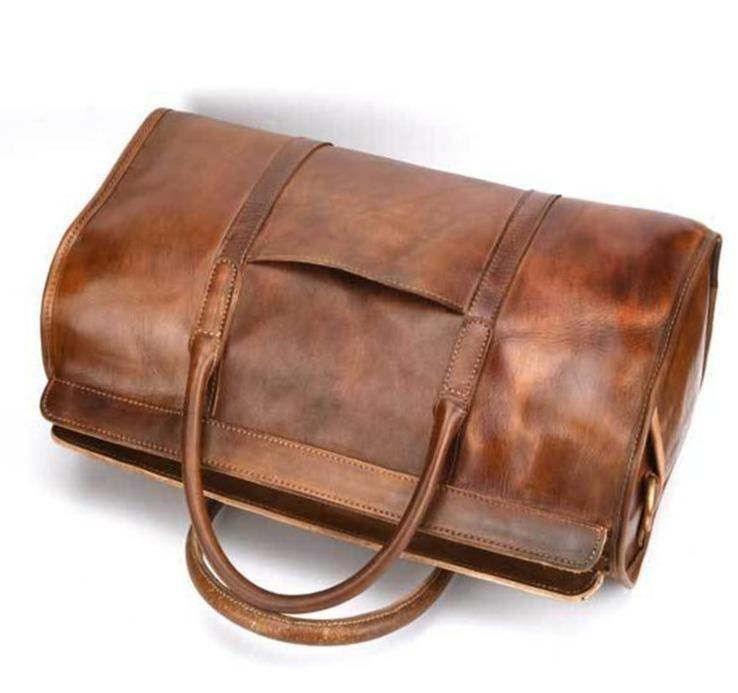 NORIDA Genuine Leather Travel Bag - VINNALEA