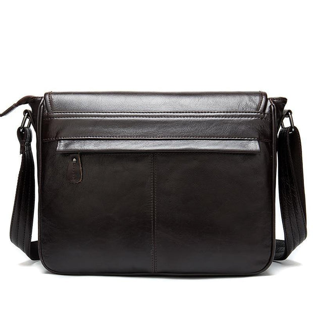 ECIEN Genuine Leather Shoulder Bag - VINNALEA