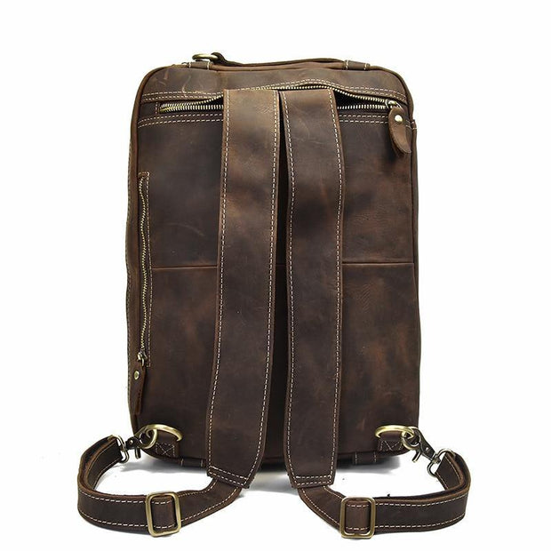 CHAG Genuine Leather Briefcase - VINNALEA