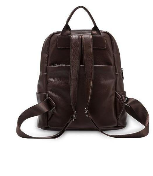 DIRA Genuine Leather Backpack - VINNALEA