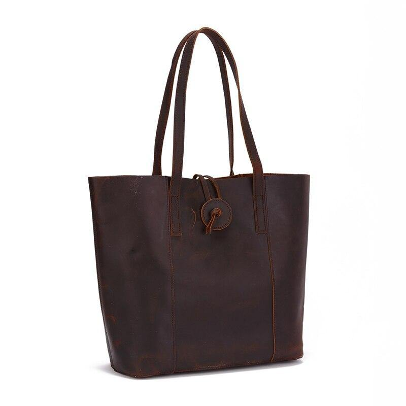 LAPCA Genuine leather Tote Handbag