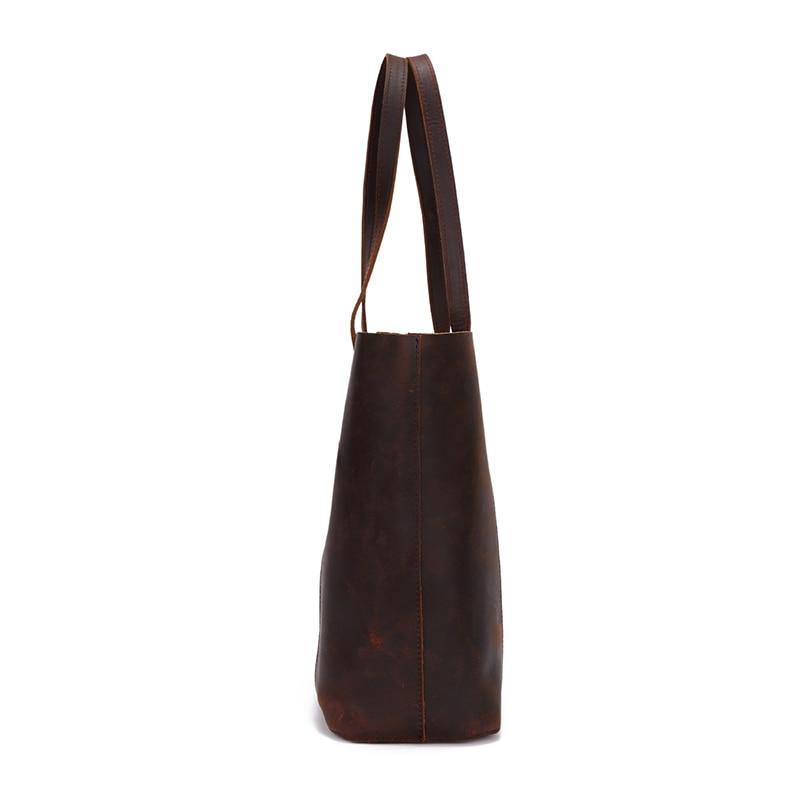 LAPCA Genuine leather Tote Handbag - VINNALEA