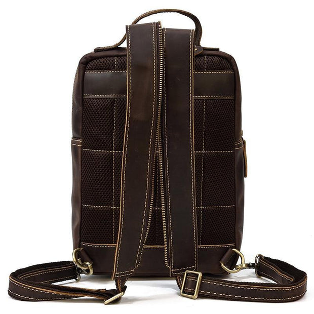 ABREU Genuine Leather Backpack - VINNALEA