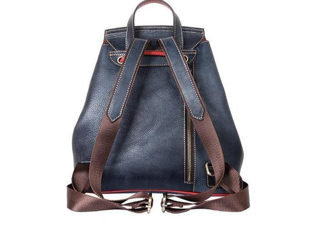 CANZA Genuine Leather Backpack - VINNALEA