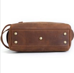 ERAL Genuine Leather Travel Dopp Kit