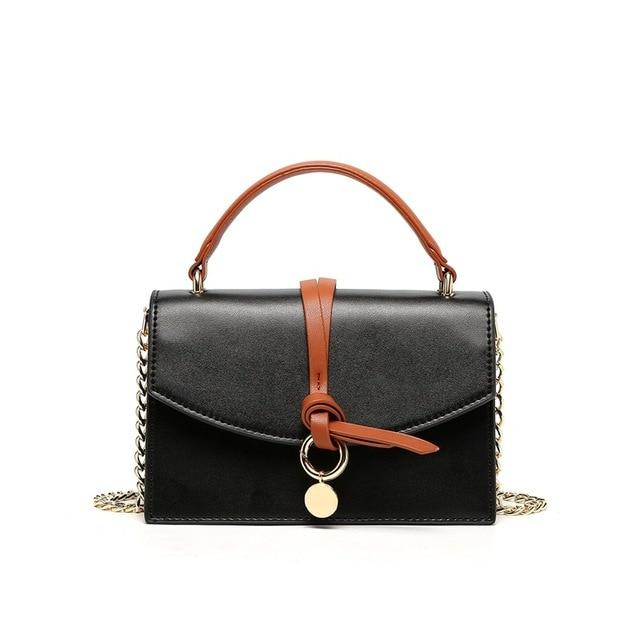 RASTA Genuine Leather Handbag - black