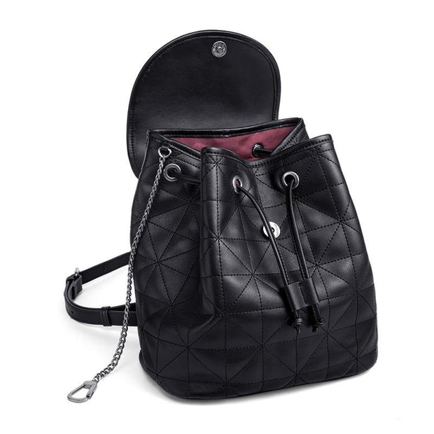 RIELA Genuine Leather Backpack - VINNALEA