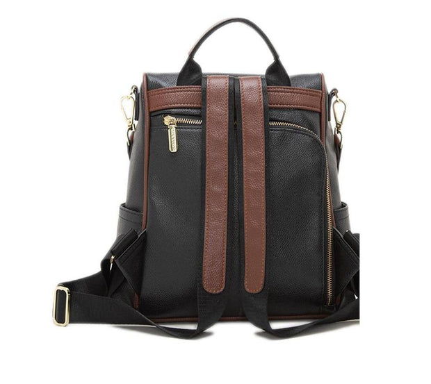 DORIA Genuine Leather Backpack - VINNALEA