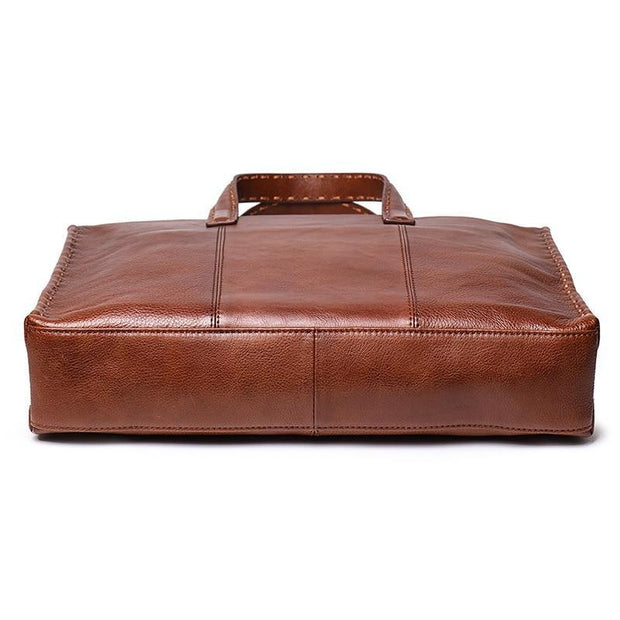 CADEL Genuine Leather Briefcase - VINNALEA