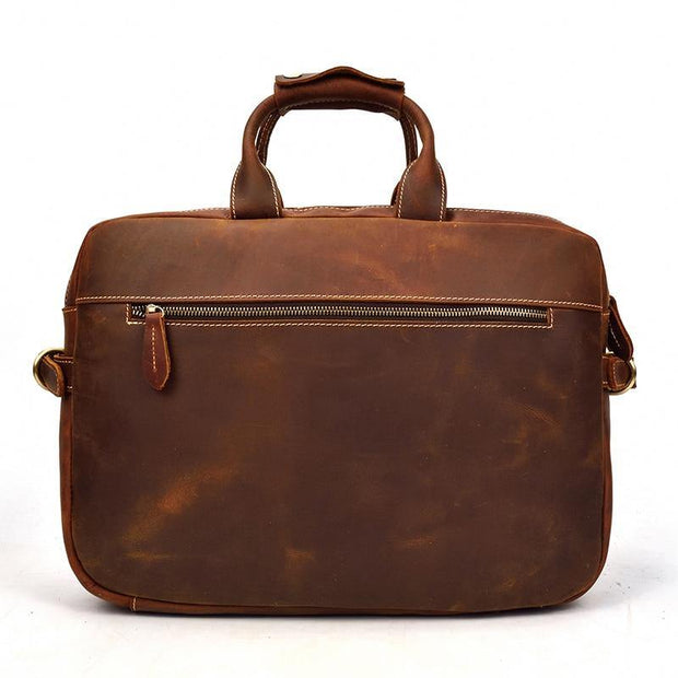 LAVEN Genuine Leather Briefcase - VINNALEA