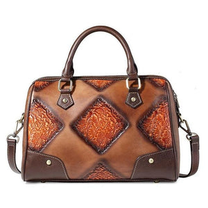 Open image in slideshow, RUCYLA Genuine Leather Handbag