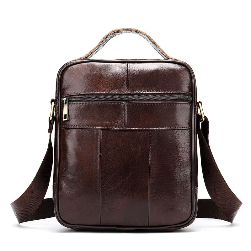 NICKA Genuine Leather Shoulder Bag