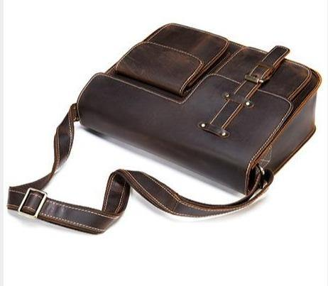 KECKER Genuine Leather Shoulder Bag - VINNALEA