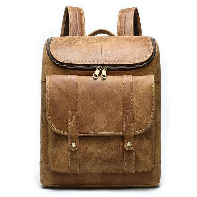 CRAE Genuine Leather Backpack