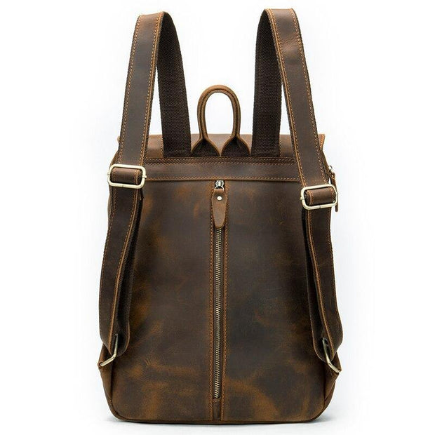 AYDON Genuine Leather Backpack - VINNALEA