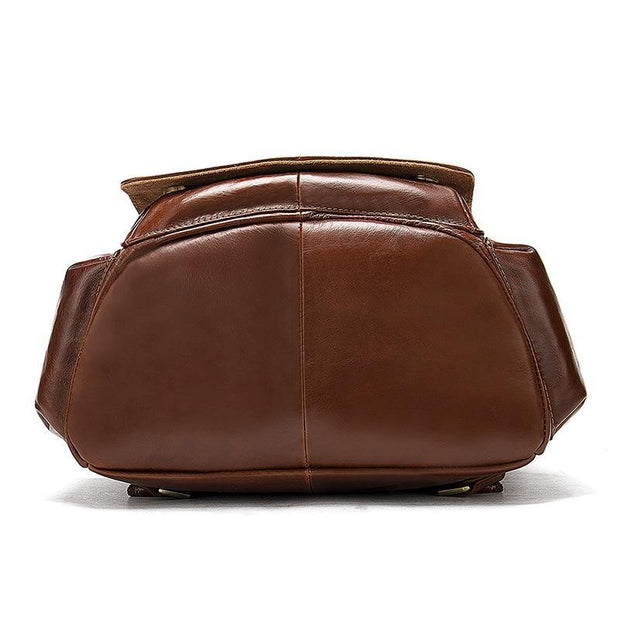 CARU Genuine Leather Backpack - VINNALEA