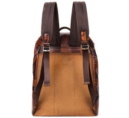 HUTCH Genuine Leather Backpack - VINNALEA