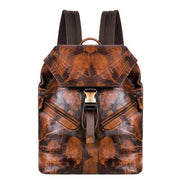 HUTCH Vintage Genuine Leather Backpack