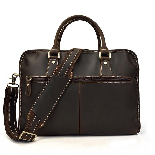 ELLAN Genuine Leather Briefcase