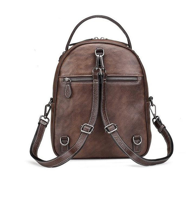 LAWA Genuine Leather Backpack - VINNALEA