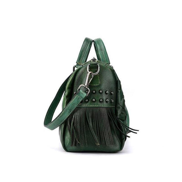 AMORA Genuine Leather Handbag - VINNALEA