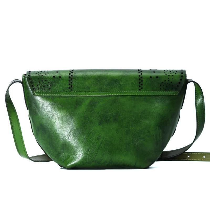 CEMA Genuine Leather Handbag - VINNALEA