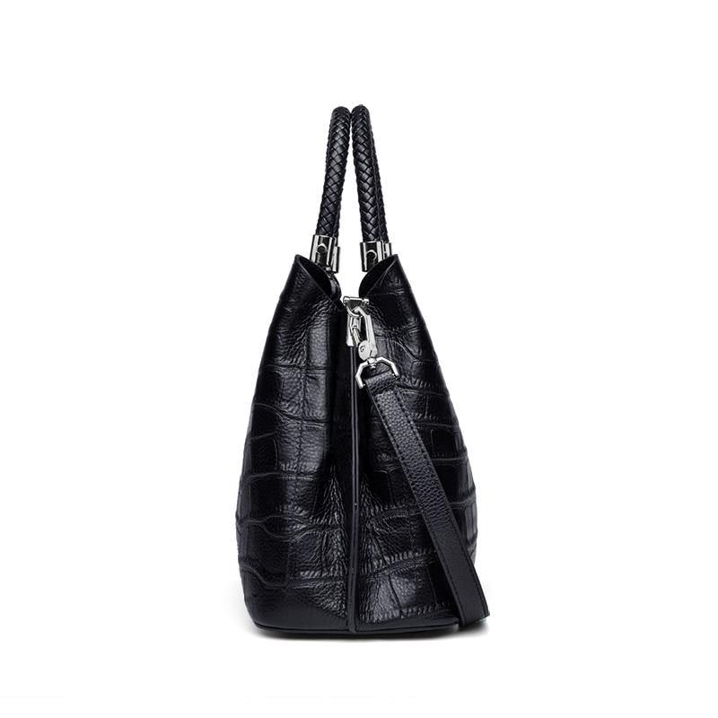 JULIKA Genuine Leather Handbag - VINNALEA