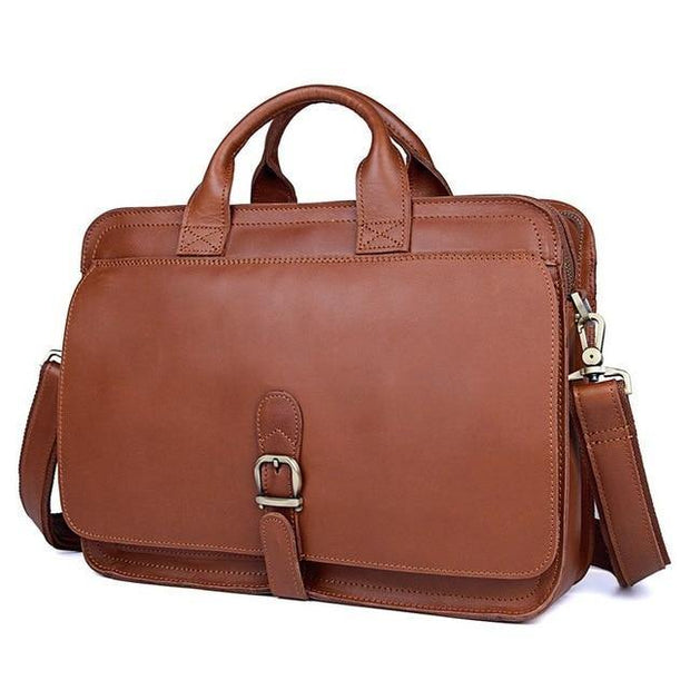 ETHIN Grade Leather Briefcase