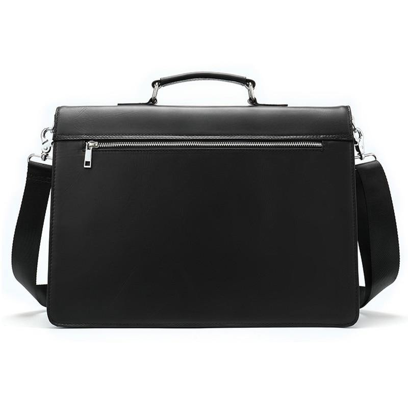 ADEAN Genuine Leather Briefcase - VINNALEA