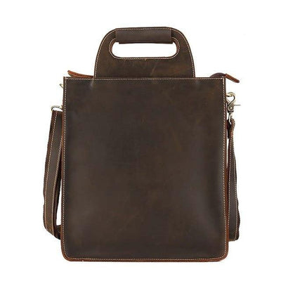 ADRON Genuine Leather Briefcase Bag