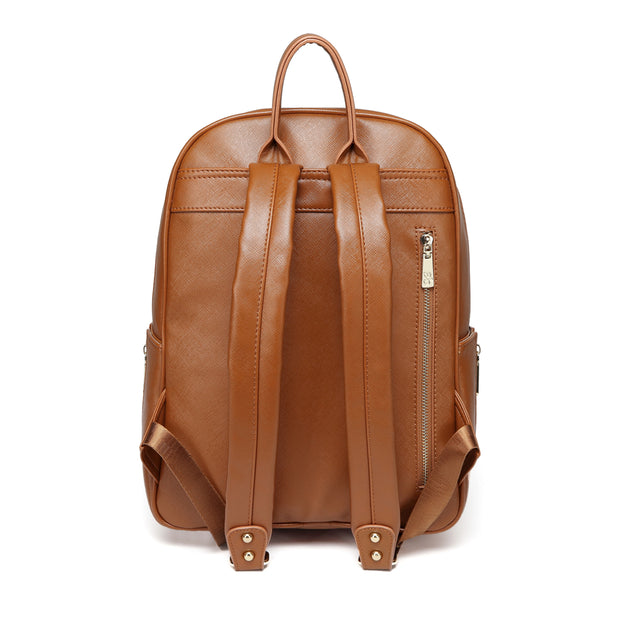 Genuine Leather Diaper Bag Backpack WESA