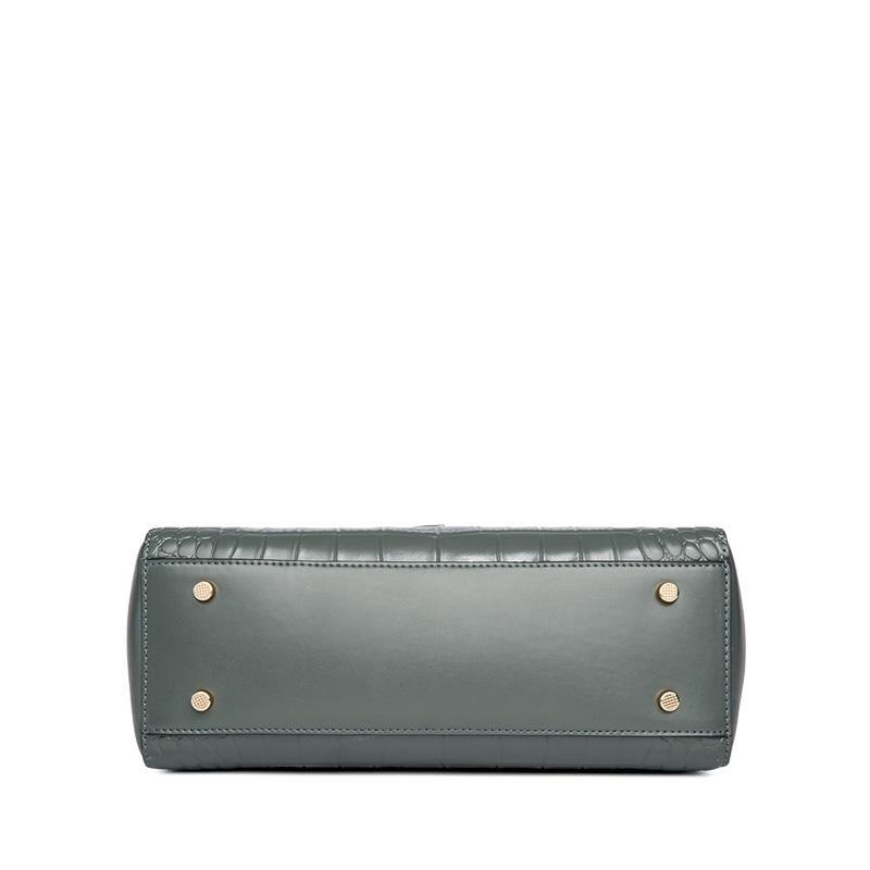 ERICA Genuine Leather Handbag - VINNALEA