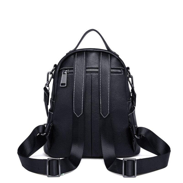 REMINA Genuine Leather Backpack - VINNALEA