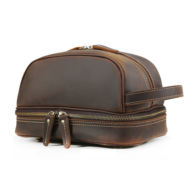 VALY Genuine Leather Dopp Kit