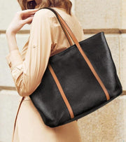 WILLA Genuine Leather Large Tote