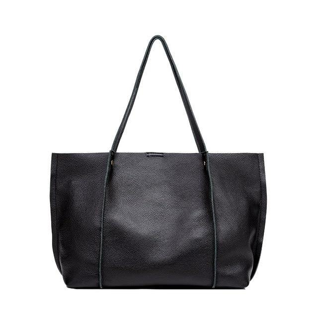 SHAYA Genuine Leather Tote Handbag - VINNALEA