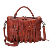 Genuine Leather Fringe Purse DYNIA