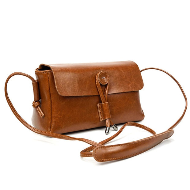 Small Genuine Leather Purse CRENDA