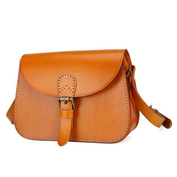 Genuine Leather Crossbody Purse DYNIA