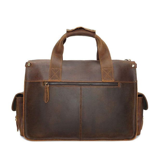 LIADEN Genuine Leather Briefcase - VINNALEA