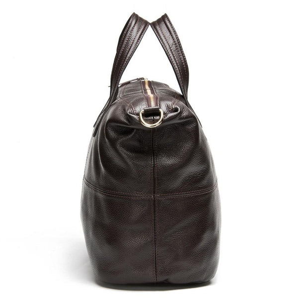 ZERRA Genuine Leather Tote Bag
