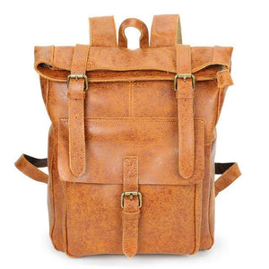 Open image in slideshow, DEZIAN Genuine Leather Backpack