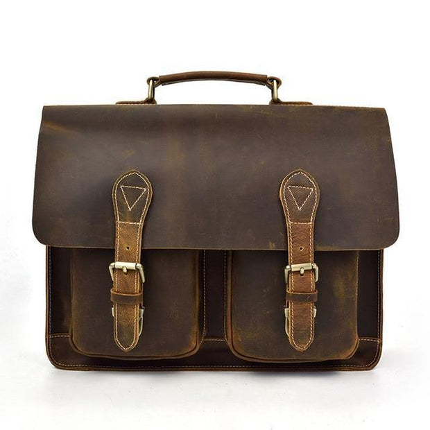 DEDIAN Genuine Leather Briefcase