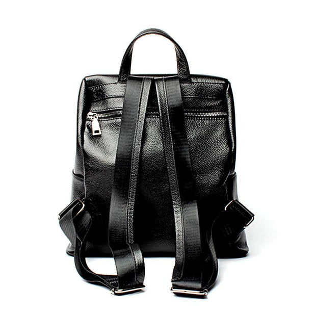 FIOLLA Genuine Leather Backpack - VINNALEA