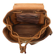 GLENN Genuine Leather Backpack - VINNALEA